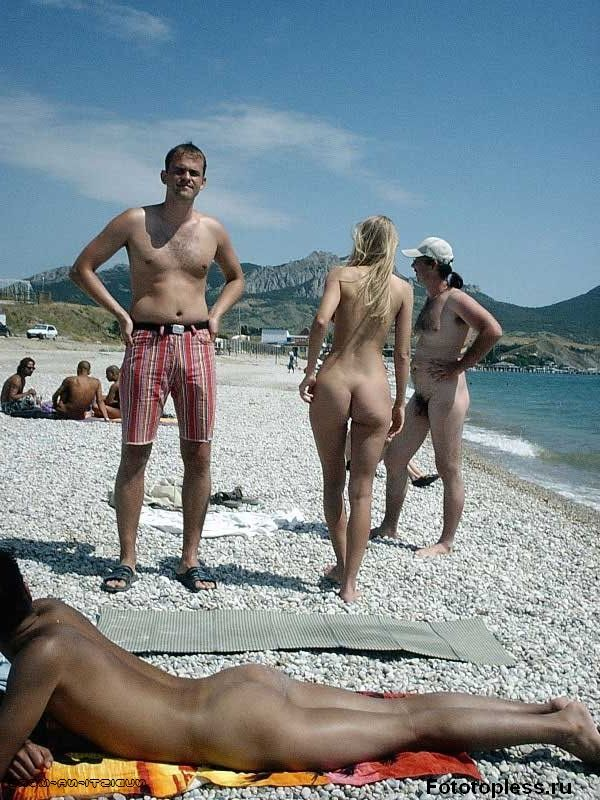 naturists and nudists naked topless on the beach (1)