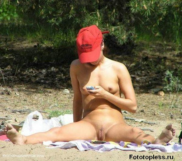 naturists and nudists naked topless on the beach (127)