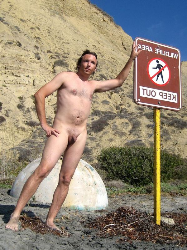 naturists and nudists naked topless on the beach (2944)