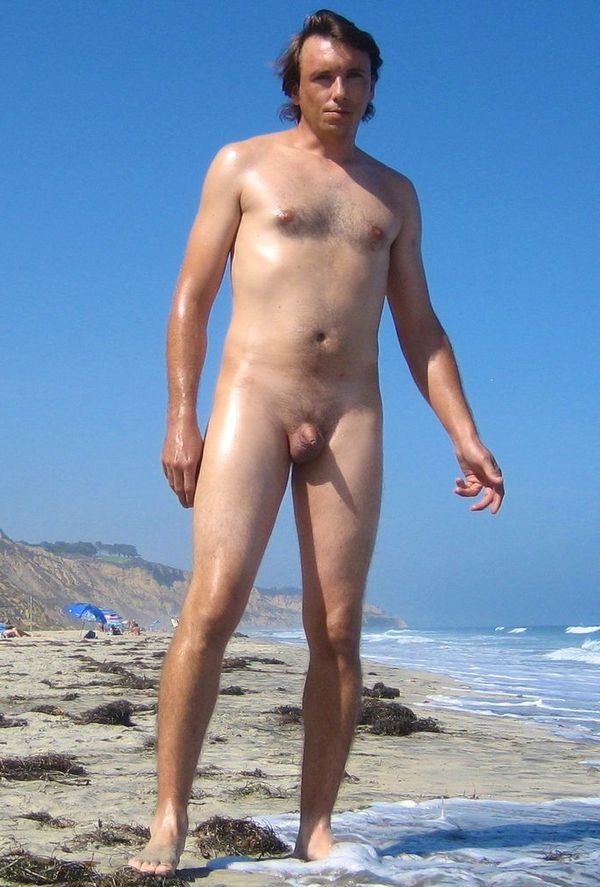 naturists and nudists naked topless on the beach (3221)